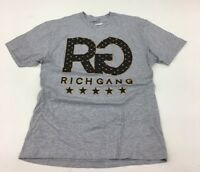 Rich Gang Gray Lux Sample T- Shirt Mens Size Large L SS 100%AUTHENTIC free shipp