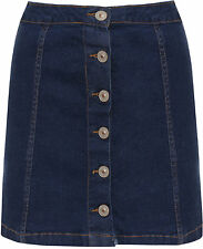 Unifarbene Supermini Damenröcke aus Baumwolle