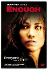 ENOUGH NEW REGION 1 DVD