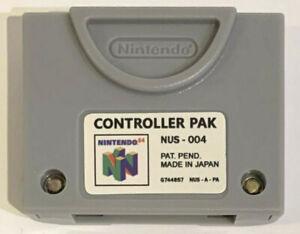 CONTROLLER PAK 256KB MEMORY PAK FOR NINTENDO 64 BRAND NEW AFTER MARKET FOR N64