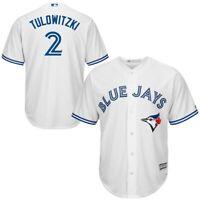 Troy Tulowitzki Toronto Blue Jays #2 MLB Youth Cool Base Home Jersey White