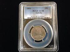 1893 25C Isabella Silver Commemorative Quarter PCGS AU58
