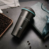 Leakproof Insulated Thermal Travel Stainless Steel Coffee Mug Cup Flask 500ML G9