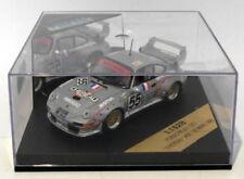 Voitures des 24 Heures du Mans miniatures en métal blanc pour Porsche