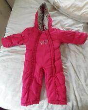 Girls Snowsuit, 9-12 Months