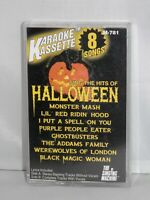 The Singing Machine HALLOWEEN KARAOKE CASSETTE TAPE Party Hits 8 Songs