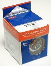 512MB Man's Black Xonix Flash Memory Watch Save / Store File Quickly via USB 2.0