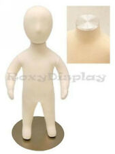 6 Month Baby With Flat Metal Top and head Mannequin Dress Form Display #Ch06M