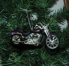 Harley Davidson 2001 FXSTS Springer Softail Christmas Ornament