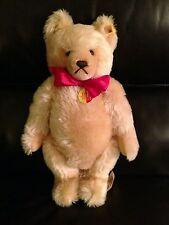 "Steiff Original Teddy Bear #001307, With Growler, 16"", Golden Blonde"