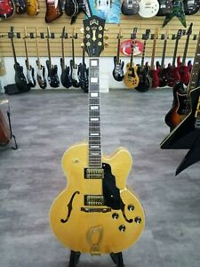 Guild USA X-170 Natural Blonde Flame made in Westerly RI