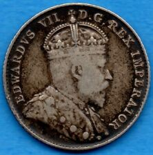 Canada 1903 10 Cents Ten Cent Silver Coin - Key Date - Fine