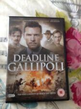 Deadline Gallipoli 2-Disc Dvd Sam Worthington