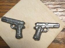 Marvel Legends Custom Weapons 6 inch scale accessories 9mm handgun x2