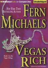 VEGAS RICH unabridged audio book CD by FERN MICHAELS - Brand New 18 CDs 22 Hours