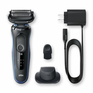 NEW BRAUN SERIES 5 - 5018s Men's Rechargeable Wet / Dry Electric Foil Shaver Kit