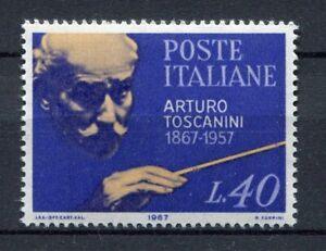 S8004) Italy Republic MNH 1967, A.Toscanini 1v