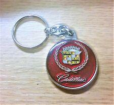 Cadillac Schlüsselanhänger Motiv rot - Maße Emblem 37mm