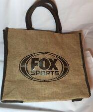 Fox Sports tote bag Burlap & Lined Cotton