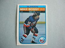 1982/83 O-PEE-CHEE NHL HOCKEY CARD #199 MIKE BOSSY NM SHARP!! 82/83 OPC