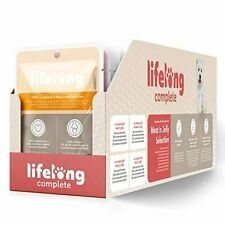 Lifelong Complete Adult Dog Food Meat in Jelly Selection 24 Pouches x 100g UK