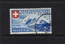 SWITZERLAND 1939 30c NATIONAL EXHIBITION - FRENCH - NICE USED