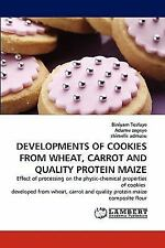 Developments Of Cookies From Wheat, Carrot And Quality Protein Maize: Effect ...
