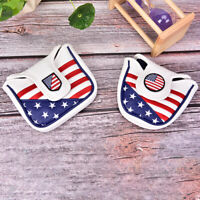 USA Mallet Putter Cover Golf Headcover For TaylorMade Spider Tour Magnet Bh