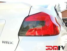 15-19 WRX STi Tail lights SMOKE out TINT Reverse Turn signal overlays blinker
