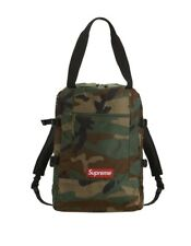 Brand New Supreme Tote Backpack Woodland Camo SS19Comes with Bag and Sticker