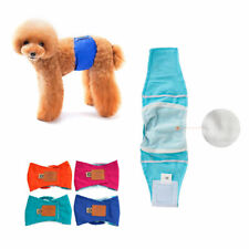 More details for s-xl male dog puppy nappy diapers belly wrap band sanitary physiological pant uk