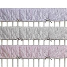 CoCaLo Voile Collection Pinwheel Quilted Crib Rail Guard Cover, Orchid Rush