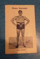 Vintage Yvon Robert Wrestler  1950 / 1960 photo