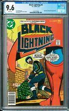 Black Lightning #4 CGC 9.6 (Sep 1977, DC) Tony Isabella story, Superman app.