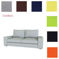 Custom Made Cover Fits IKEA KIVIK Loveseat, Replace Two Seat Sofa Cover