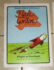 Flash Gordon Flight to Freeland  Daily Strips Pacific Comic Club 1981