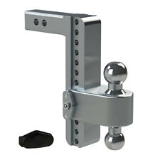 "Weigh Safe LTB10-2 Adjustable 10"" 180 Hitch Ball Mount 2"" Shaft 10,000 lbs."
