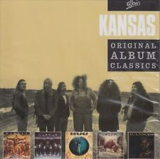Kansas / Song For America, Point of Know Return, Leftoverture u.a. (5 CDs,OVP!)