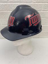 Minnesota Twins MLB Team Hard Hat Construction with Pin Lock Suspension