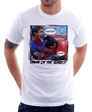Dawn of SUAREZ CHELSEA LIVERPOOL JAWS BITE GNAWS funny white t-shirt TC9623