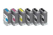 6 Tinte Set für Canon ImagePROGRAF iPF510 iPF605 iPF710 iPF750 / PFI-102 Patrone