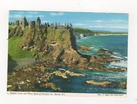 Dunluce Castle & White Rocks Of Portrush N Ireland 1969 Postcard 697a