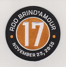 Rod Brind'Amour patch Philadelphia Flyers Hall Of Fame Jersey Patch