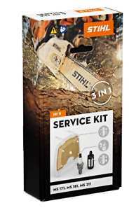 Chainsaw Service Kit 9 For MS171, MS181 and MS211 Genuine STIHL PN 11390074100