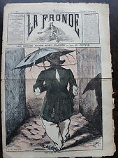 LA FRONDE, directeur George Petilleau. Journal du dimanche 25 Octobre 1874. Les