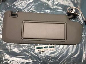 New Genuine GM 95034262 Passengers Side Roof Sun Visor Left Titanium 11-15 Cruze