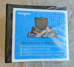 NEW - DiscGear CD Disc DVD 100 Blu-Ray/Bluray Literature Storage Album 7000-03