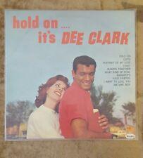 "DEE CLARK Hold On... It's Dee Clark 12"" 33RPM w/ Pic Sleeve VEE JAY VJLP 1037"