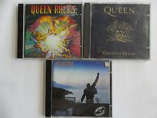 3x Queen - Greatest Hits 2 + Made In Heaven + Queen Rocks