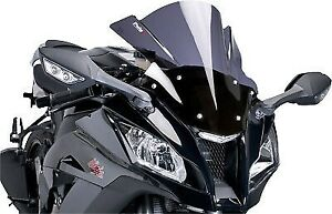 Racing Windscreen PUIG Dark Smoke 4184F